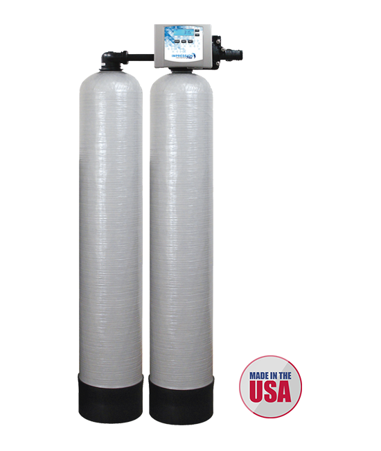 Savanna Springs Products Water Softeners Impression Twin Series