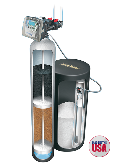 Savanna Springs Products Water Softeners Impression Plus Carbon Resin Series Large